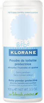 <b>Klorane Bebe</b> Защитная туалетная <b>присыпка</b> 100 г — купить в ...