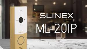 Видеообзор <b>панели Slinex ML</b>-<b>20IP</b> - YouTube