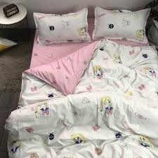 <b>Sailor Moon</b> HD <b>Printing</b> 2/3pcs Bedding Set Duvet Cover with ...