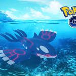 The Legendary Kyogre is Now in Pokémon Go