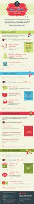 best images about christmas infographics around facebook holiday contests 12 last minute super festive ideas