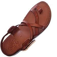 Holy Land Market Camel <b>Men's Genuine Leather</b> Biblical <b>Sandals</b> ...