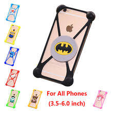 Best value <b>Universal Rubber</b> Soft Silicone <b>Phone</b> Bumper Case ...