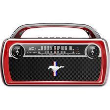 <b>ION Audio Mustang</b> Bluetooth Classic Car Styling <b>Stereo Speaker</b> ...