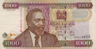 Image result for 1000 shilling note