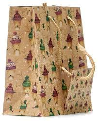 <b>Пакет подарочный УРРА</b> крафт Новый год 11х14х6 см — купить ...