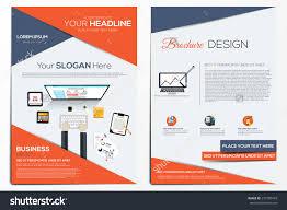 brochure design template abstract modern backgrounds stock vector brochure design template abstract modern backgrounds infographic concept flat design vector