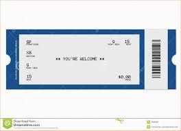 blank ticket template academic resume template related for 9 blank ticket template