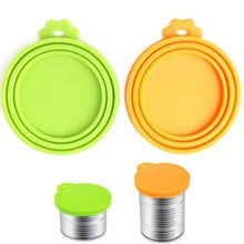Popular Pet Food Can <b>Silicone</b> Cover Reusable-Buy Cheap Pet ...