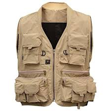 Buy Leoie Fishing Vest,<b>Men's Multifunction</b> Pockets Travels <b>Sports</b> ...