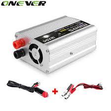 Onever 500W DC 12V to AC 220V Adapter 1000W <b>Peak Power Car</b> ...