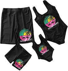 Yaffi Mommy and Me Swimwear Family Matching <b>One Piece</b> Beach ...