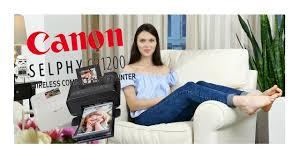 <b>Canon SELPHY</b> CP1200: обзор <b>принтера</b> - YouTube