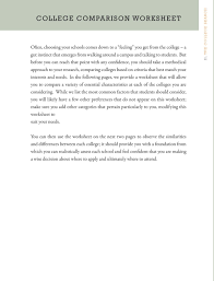 college counseling handbook pdf in the following pages we provide a worksheet that will allow you to compare a