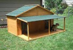 images about Kennel ideas on Pinterest   Dog Kennels  Dog      dog house plans for large dogs   Bing Images