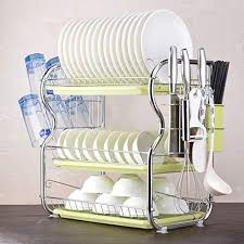 Standing Kitchen Dish Rack, 2 Tier Dish - Buy Online in Israel at ...