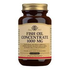 <b>Fish Oil</b> Concentrate 1000 mg Softgels - Pack of 60 - <b>Solgar</b>