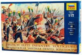 <b>Сборная модель Zvezda Французская</b> элитная пехота ...