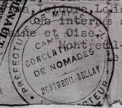 """Résultat de recherche d'images pour """"hommage aux nomades internés 1940-1946"""""""