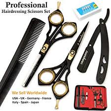 6 inch hairdressing scissors black colorful hair salon professional flat cutting bangs thinning shears