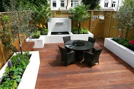 Small Picture Contemporary Garden Designs Decking Outdoor Contemporary Wooden