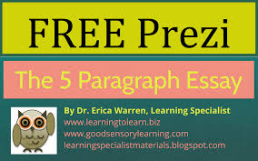 learning specialist and teacher materials good sensory learning five paragraph essay instruction