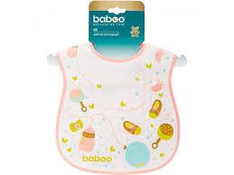 <b>Нагрудник Baboo Baby</b> Shower махровый 1 год+ оранжевый ...