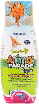 Nature's Plus - <b>Source of Life Animal</b> Parade Liquid Childrens Multi ...