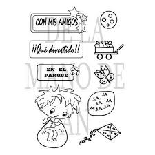 Game Children <b>Stamps</b> – Inlovearts