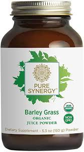<b>Pure Synergy</b> USDA <b>Organic</b> Barley Grass Juice Powder (5.3 oz ...