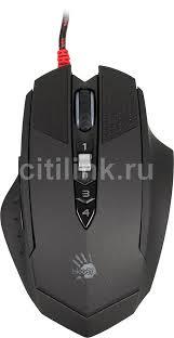 Купить <b>Мышь</b> A4 <b>Bloody T70</b> Winner, проводная, USB, черный и ...