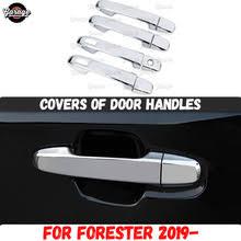 <b>Накладки на дверные ручки</b> для Subaru Forester 2019-ABS ...