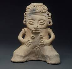 goddess ,taíno zemí of itiba cahubaba,great bleeding mother,ad taíno zemí of itiba cahubaba ad santiago de los caballeros n republic clay 15 x 9 x 18 cm itiba cahubaba great bleeding mother is a primary
