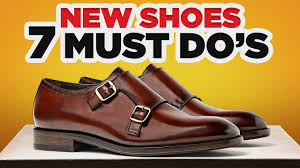 <b>New Leather</b> Shoes? 7 MUST DO'S Before Wearing - YouTube