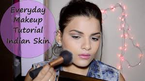 everyday makeup tutorial for indian skin in glam 2016 08 23