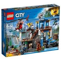 <b>Конструктор LEGO</b> City 60174 <b>Полицейский участок</b> в горах ...