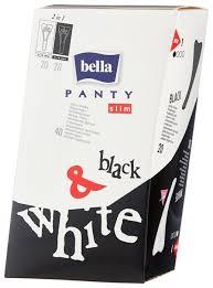 <b>Bella прокладки</b> ежедневные <b>Panty slim</b> black and white — купить ...