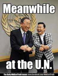 The Daily MidEastTruth meme - Meanwhile at the U.N. - MidEastTruth.com via Relatably.com