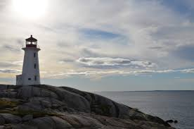 photo essay lighthouses of the world it shows the lighthouse at peggy s cove in halifax nova scotia her husband tom slipped and fell while taking this shot