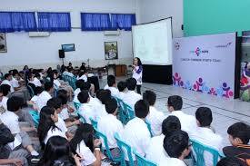 continuous collaboration combiphar through combihope program this collaboration carrying out the program called combihope targeted youth from senior high school vocational school