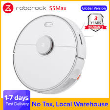 <b>Roborock S5 Max</b> Robot Vacuum Cleaner S5max cordless for home ...