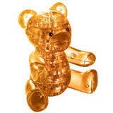 """Кристальный <b>пазл 3d</b> Сrystal <b>puzzle</b> """"<b>Мишка</b> янтарный"""" – купить ..."""