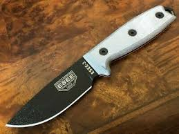 ESEE Knives 3 черный клинок простая режущая кромка ручка ...