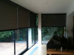 large sliding patio doors: sliding glass door with white wooden frame combined brown drapery gallery photos of patio doors