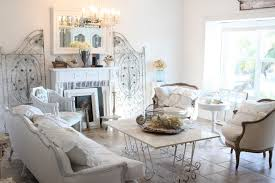 shabby chic living room ideas with tufted sofa and rectangle white table with flower awesome chic living room ideas
