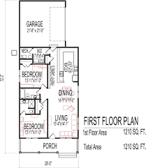 Small Two Bedroom House Plans Low Cost Sq Ft one Story    Small Low Cost Economical Bedroom Bath Sq Ft Single Story House Floor Plans