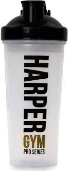 <b>Шейкер Harper Gym</b>, цвет: прозрачный, черный, 700 мл 322544 ...
