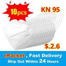 <b>10PCS KN95</b> Mask Antivirus Flu Anti Infection <b>KN95</b> Masks ...