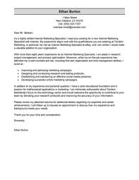 Best Online Marketer and Social Media Cover Letter Examples ... More Online Marketer and Social Media Cover Letter Examples