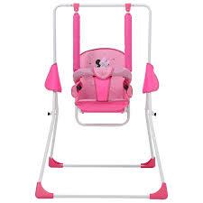 <b>Качели Polini kids Disney</b> baby Минни Маус, с вышивкой, розовый ...